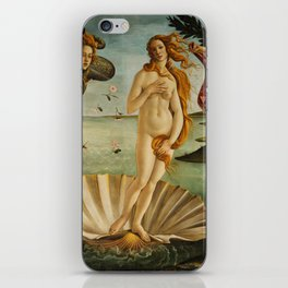 The Birth Of Venus Painting Sandro Botticelli iPhone Skin