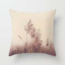 Faded Moments Throw Pillow