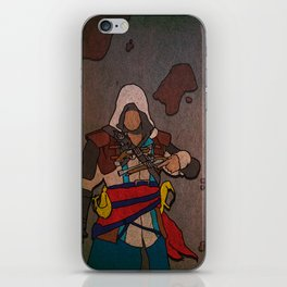 Asssassin's Creed - Black Flag - Edward Kenway iPhone Skin