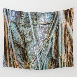 Strangler Fig Closeup Wall Tapestry
