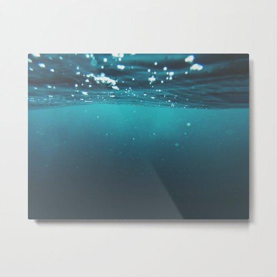 Enter Sea Metal Print