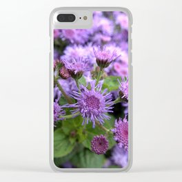 Flower BB Clear iPhone Case