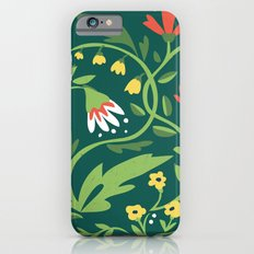 Green Floral iPhone 6s Slim Case