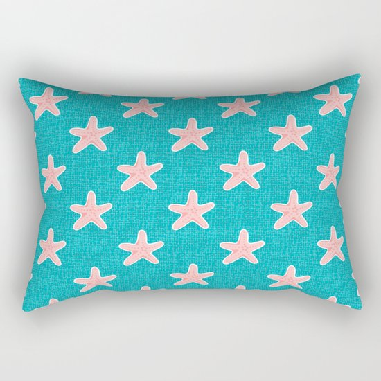 Starfish_Pattern Rectangular Pillow