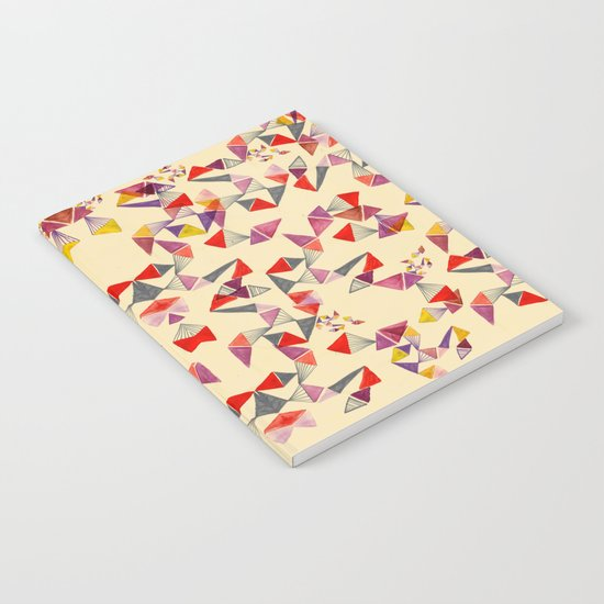 watercolour geometric shapes Notebook