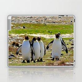 Marching King Penguins Laptop & iPad Skin