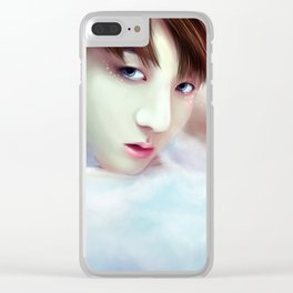 BTS - Jungkook - Angel Clear iPhone Case
