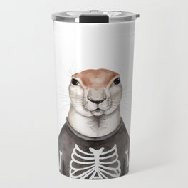 X is for a Xerus in an X-Ray Shirt Travel Mug