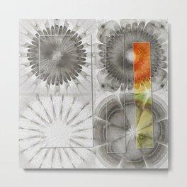 Rearisal Woof Flower  ID:16165-041512-61251 Metal Print