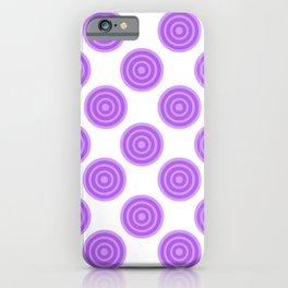 Purple Grape Lollies iPhone Case