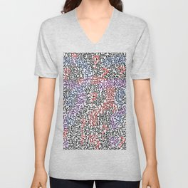 thought, question Unisex V-Neck