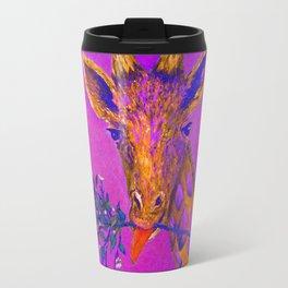 Psychedelic Giraffe Travel Mug