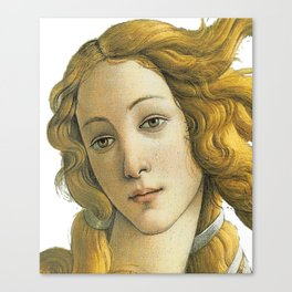 Botticelli Birth Of Venus Canvas Print