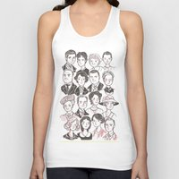 downton abbey Tank Tops featuring Downton Abbey by giovanamedeiros