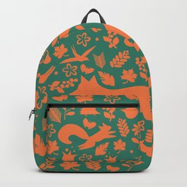 Finnish forest - Autumn colors Backpack