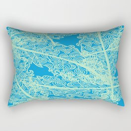 Welcome To The Sea Jungle Rectangular Pillow