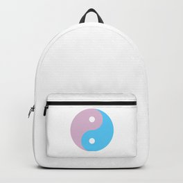 Transgender Yin Yang Symbol Backpack