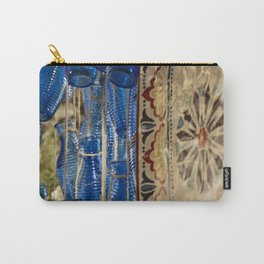 Blue Bottle Abstract Carry-All Pouch