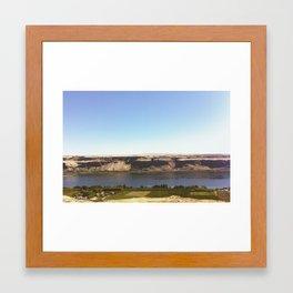 The Columbia Gorge (East) Framed Art Print
