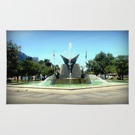 Victoria Square Fountain - Adelaide Rug
