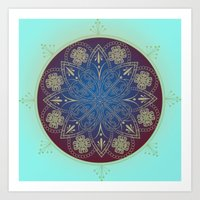 Celtic Mandala Art Print