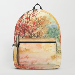 Autumn Road Backpack