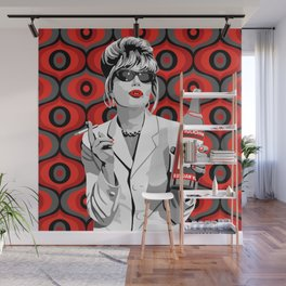 Absolutely Fabulous: Patsy Stone Wall Mural