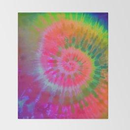 Tie-Dye #9 Throw Blanket