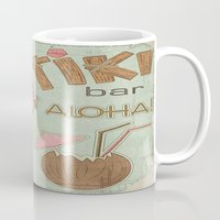 aloha Mugs featuring Aloha by Robin Curtiss