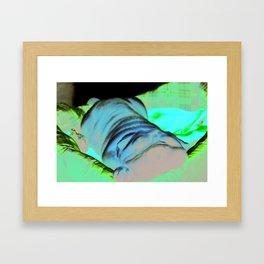 The Towel Framed Art Print