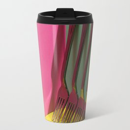 A very simple still life with forks Travel Mug