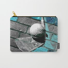 Golf print work 3 Carry-All Pouch
