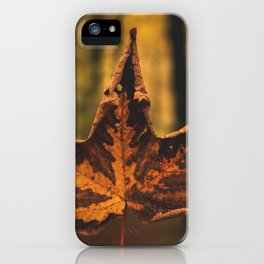 leafe iPhone Case