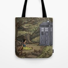 Escape from the Dark Forest Tote Bag