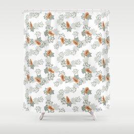 Pretty Papaya 2 Shower Curtain