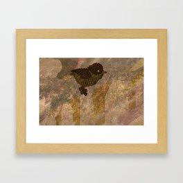 Object Examination: Bird Framed Art Print