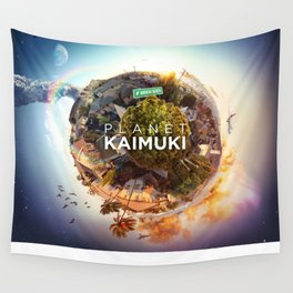 Planet Kaimuki Wall Tapestry