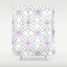 Floral Pattern - JUSTART © Shower Curtain
