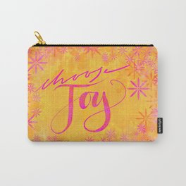 Choose joy Carry-All Pouch