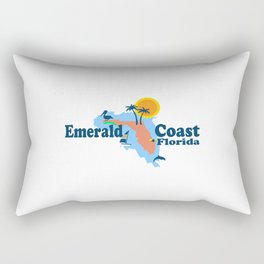 Emerald Coast - Florida . Rectangular Pillow