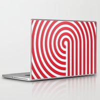 vertigo Laptop & iPad Skins featuring VERTIGO by Gradosei