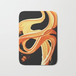 Fire Water 207 By Sharon Cummings Bath Mat