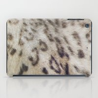 snow leopard iPad Cases featuring Snow Leopard by Pauline Fowler ( Polly470 )