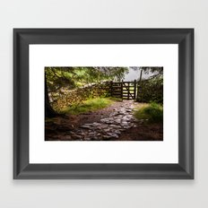 The Path at Blea Tarn Framed Art Print