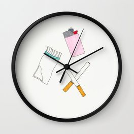VICES Wall Clock