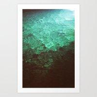 pool Art Prints featuring Pool by Dulcinee