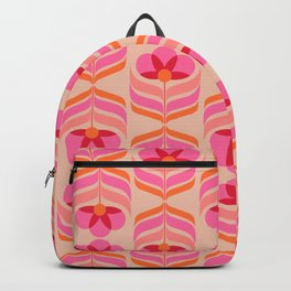 flowers geometry - pattern no1 Backpack