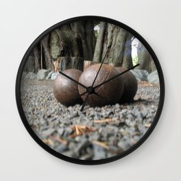 boule set up perspective Wall Clock