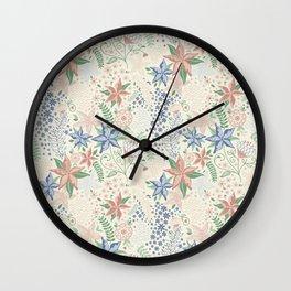 Caladenia Wall Clock