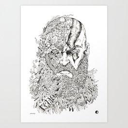 God Of War Art Prints Society6